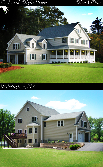 Colonial Homes Kdk Design Massachusetts Residential